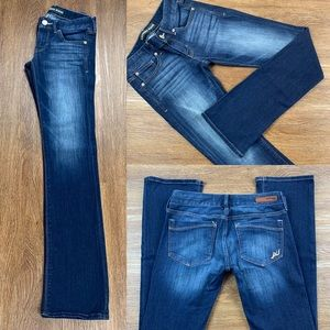 NWOT EXPRESS LOW RISE BARELY BOOT JEANS